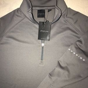 DUNHILL LINKS 1/4 ZIP GOLF PULLOVER JACKET SWEATER